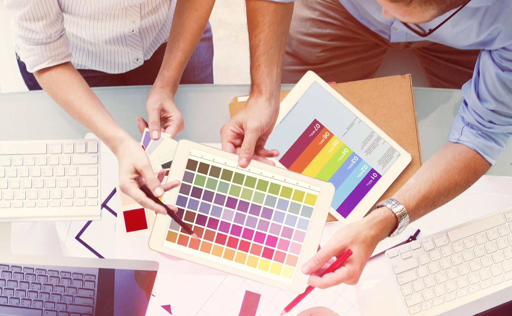 Farben aussuchen